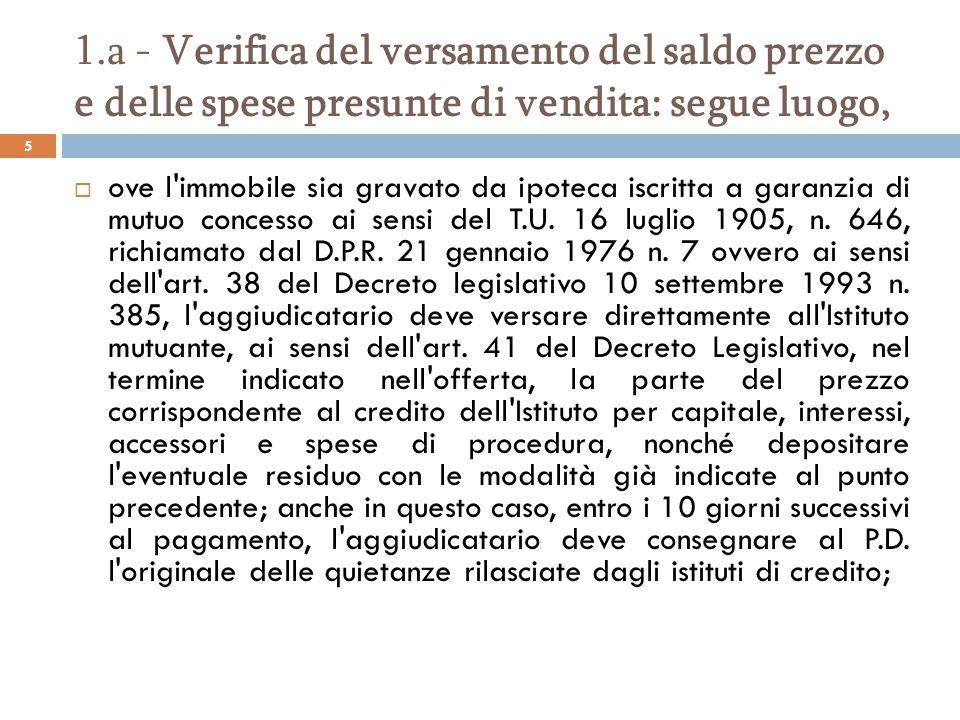 O d c e c di civitavecchia corso sulle esecuzioni - Detrazioni fiscali in caso di vendita immobile ...