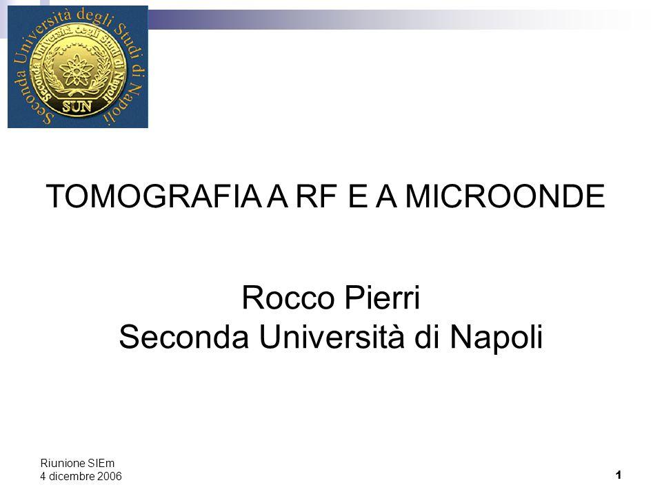 Rocco Pierri Seconda Università di Napoli