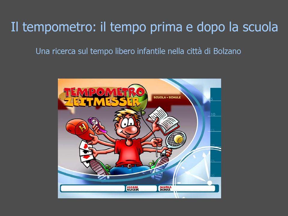 Una ricerca sul tempo libero infantile nella città di Bolzano