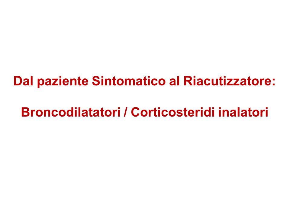 Dal paziente Sintomatico al Riacutizzatore: