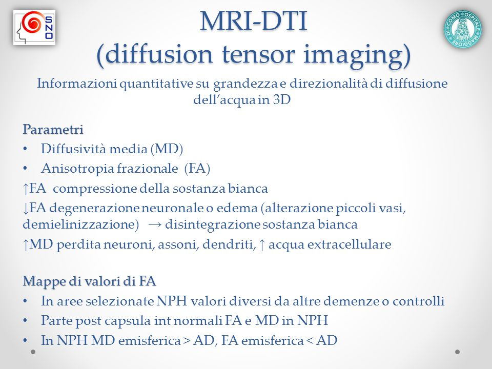 MRI-DTI (diffusion tensor imaging)