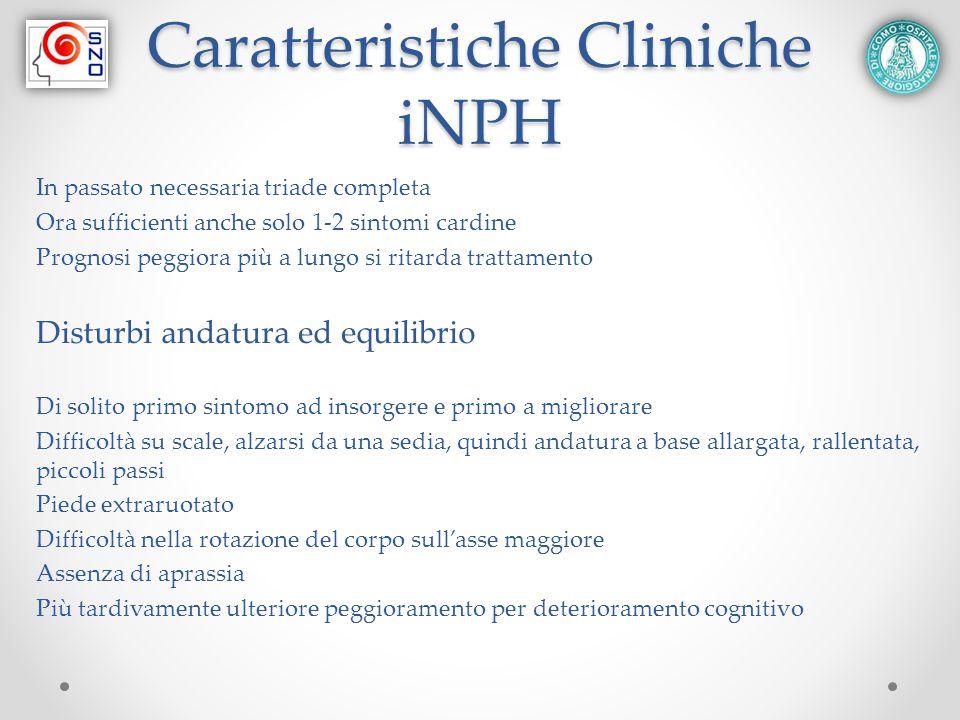 Caratteristiche Cliniche iNPH