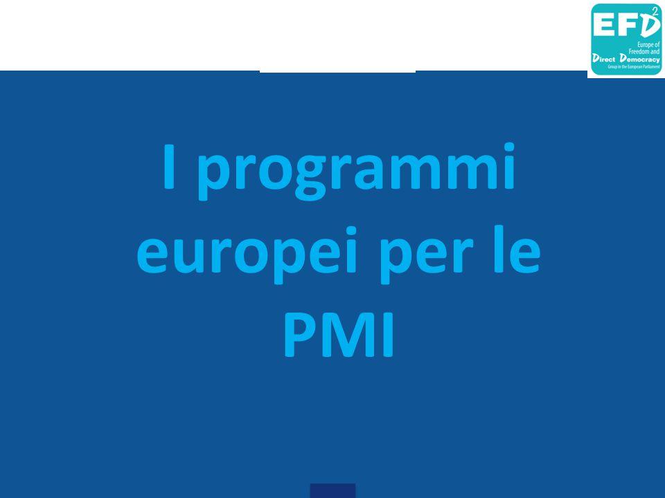 I programmi europei per le PMI