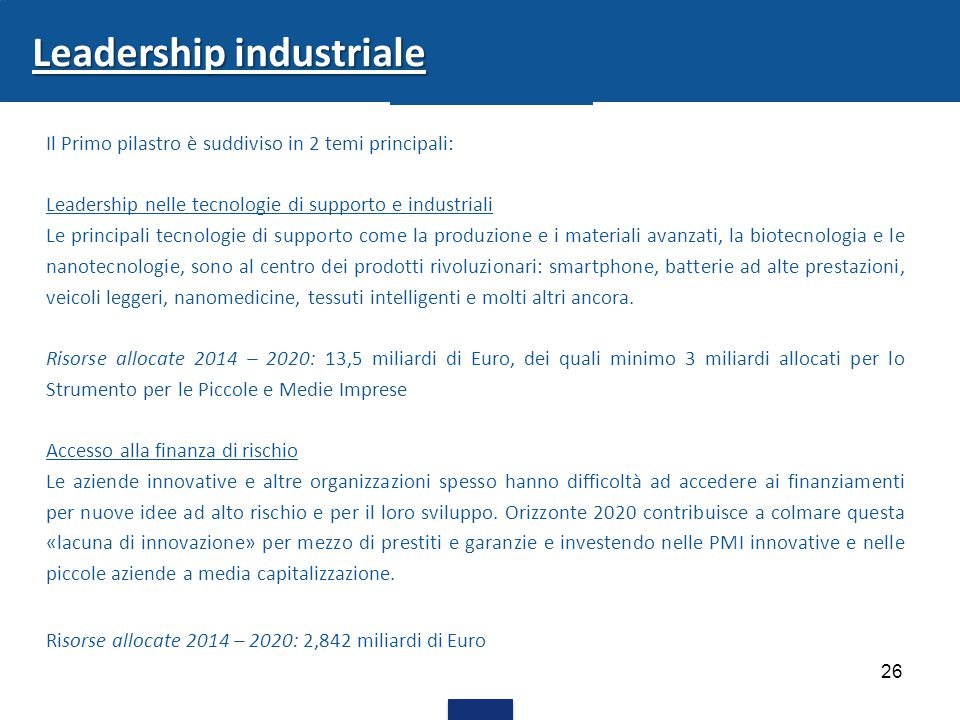 Leadership industriale
