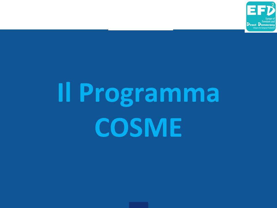 Il Programma COSME
