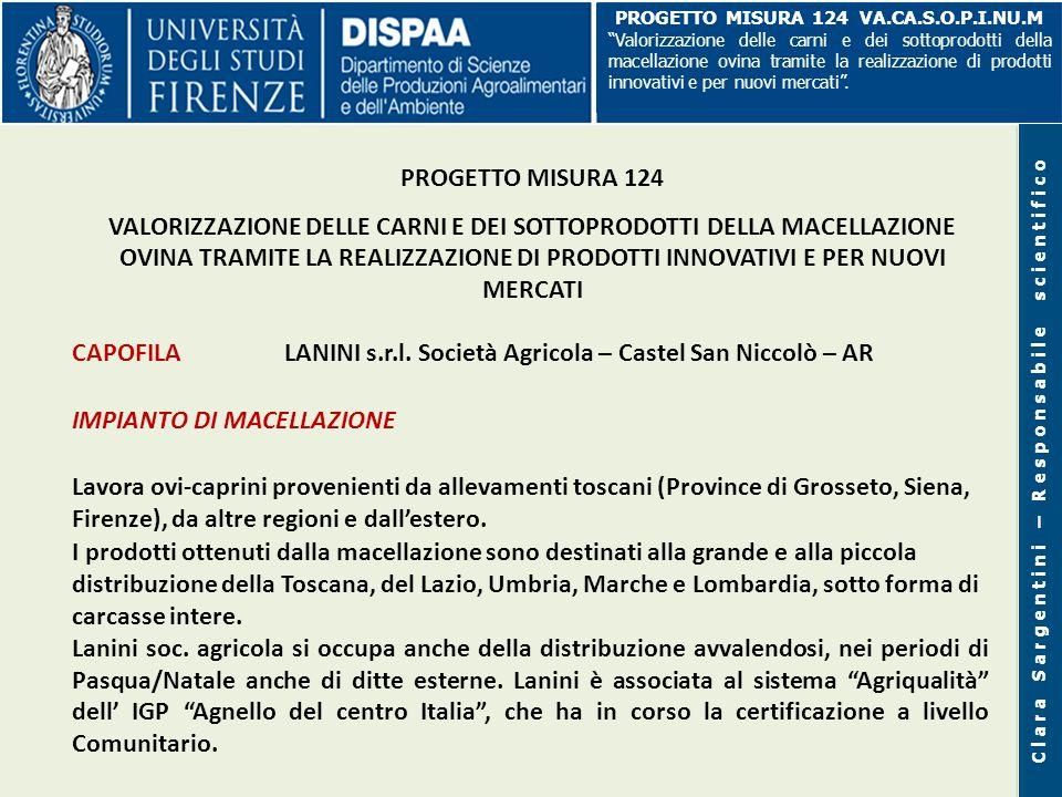CAPOFILA LANINI s.r.l. Società Agricola – Castel San Niccolò – AR