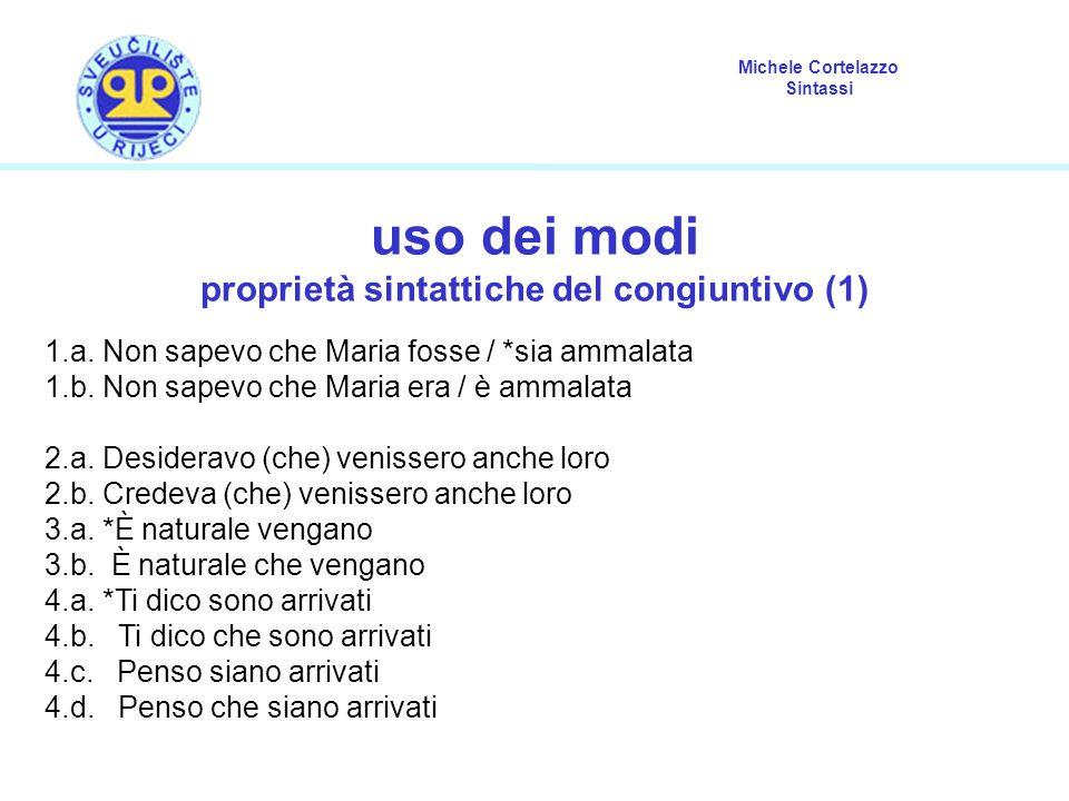 proprietà sintattiche del congiuntivo (1)