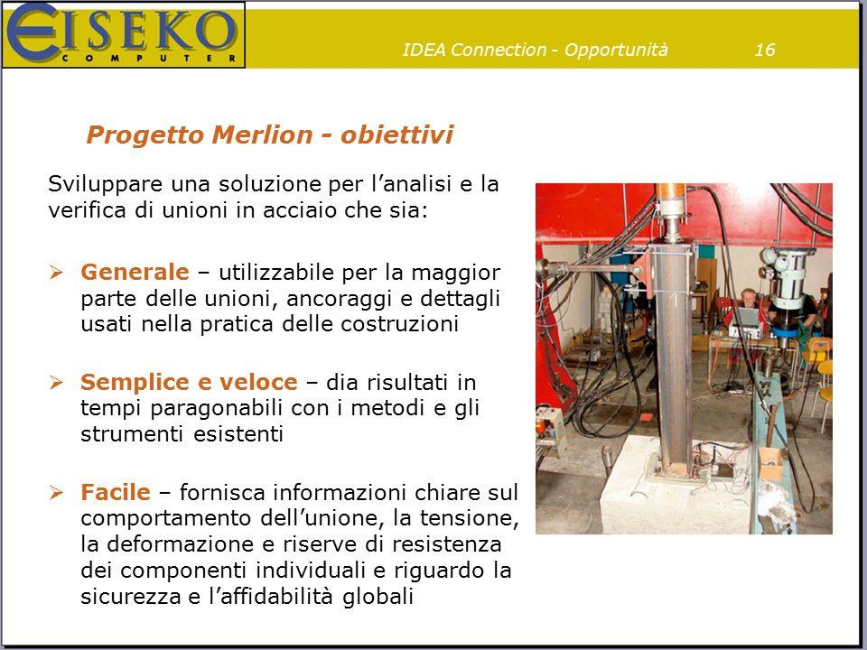 """""""Progetto Merlion iniziato nel 2013"""
