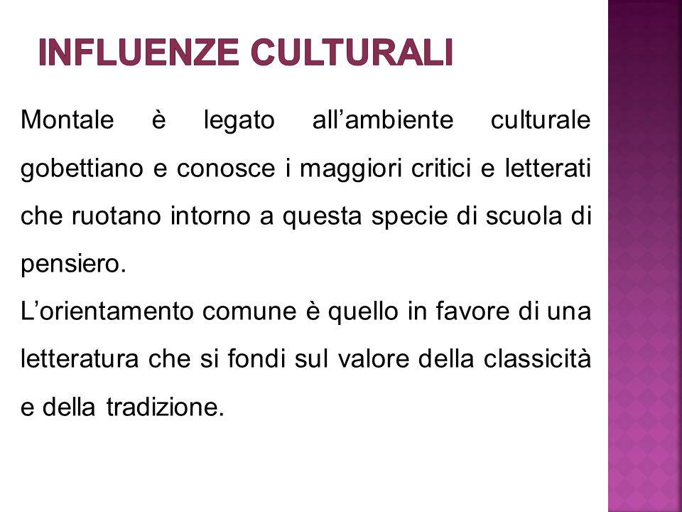 Influenze culturali