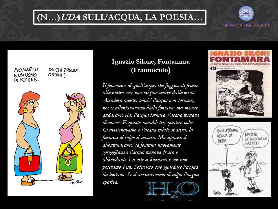 Ignazio Silone, Fontamara (Frammento)
