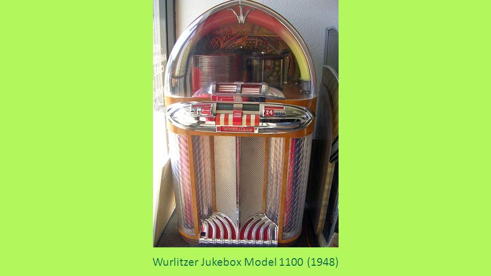 Wurlitzer Jukebox Model 1100 (1948)