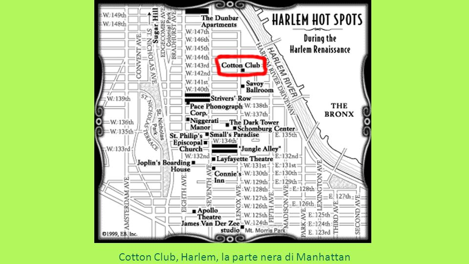 Cotton Club, Harlem, la parte nera di Manhattan