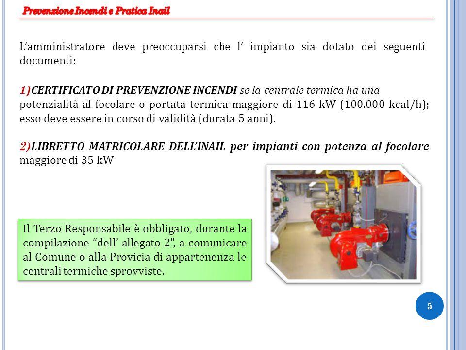 Prevenzione Incendi e Pratica Inail