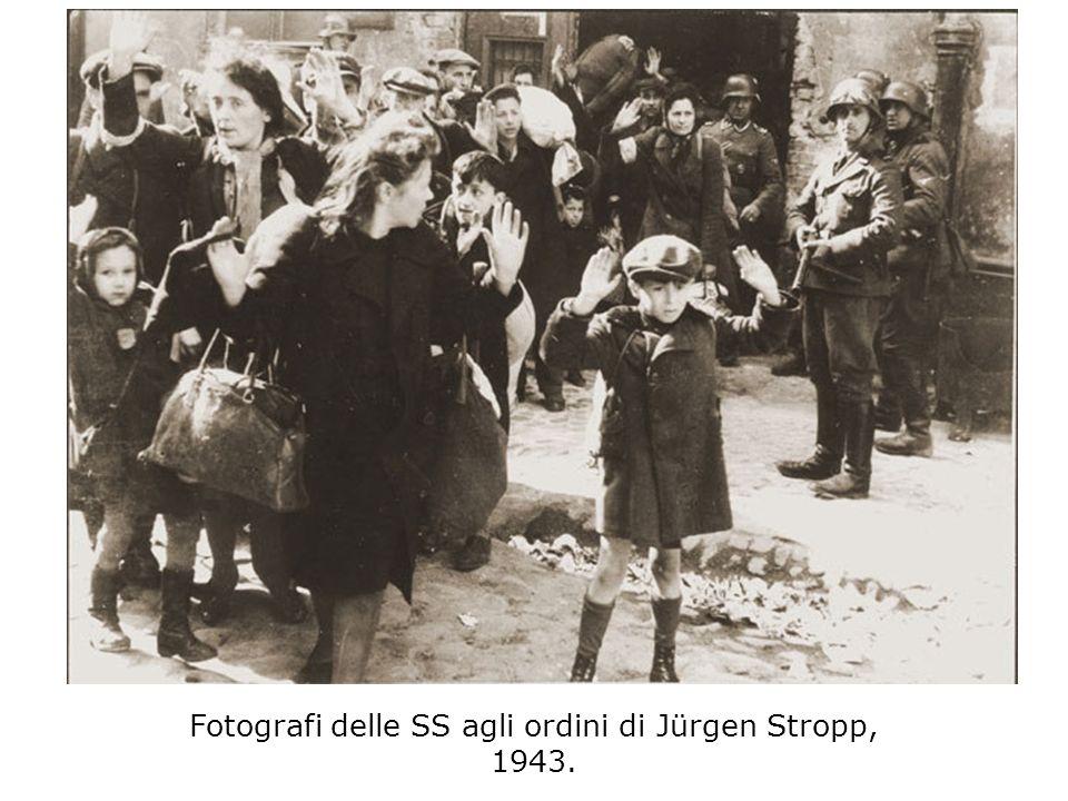 Fotografi delle SS agli ordini di Jürgen Stropp, 1943.