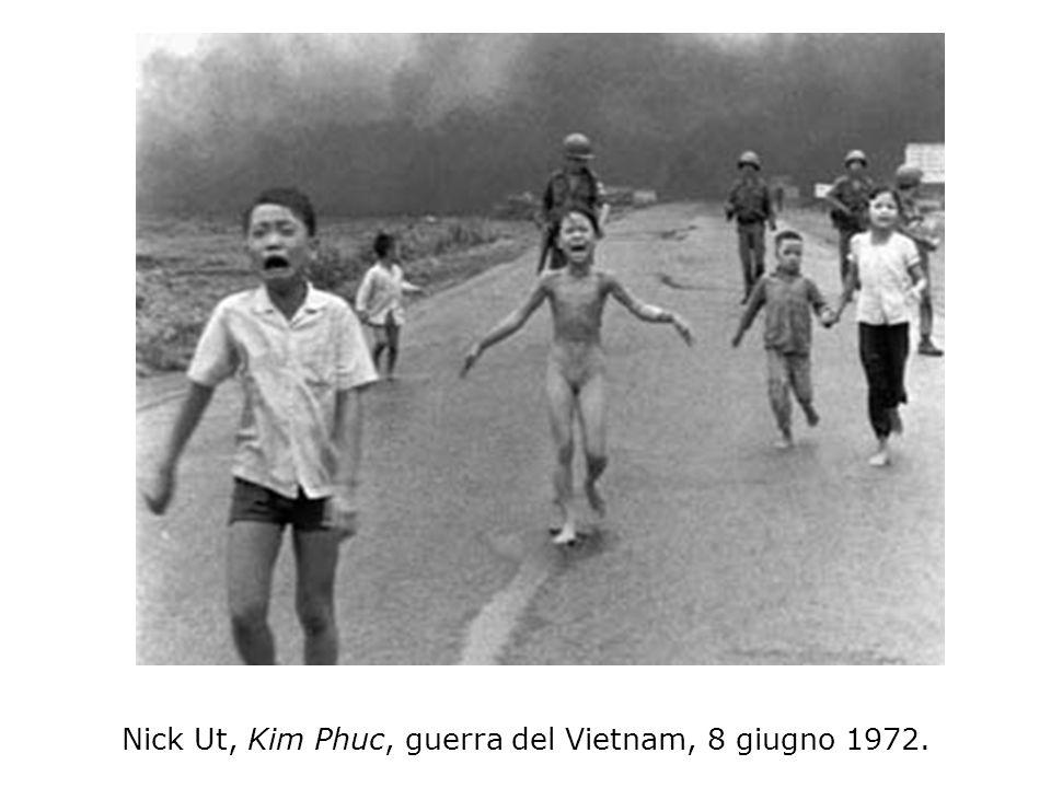 Nick Ut, Kim Phuc, guerra del Vietnam, 8 giugno 1972.