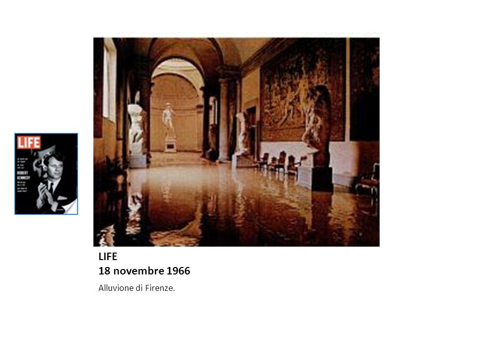 LIFE 18 novembre 1966 Alluvione di Firenze.