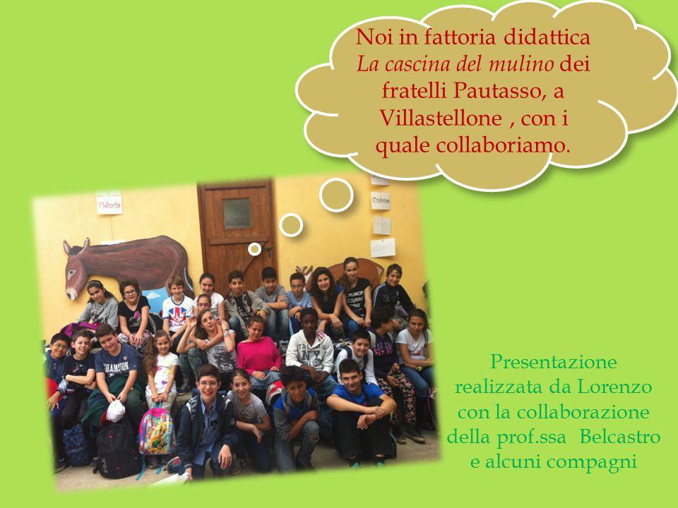 Noi in fattoria didattica La cascina del mulino dei fratelli Pautasso, a Villastellone , con i quale collaboriamo.