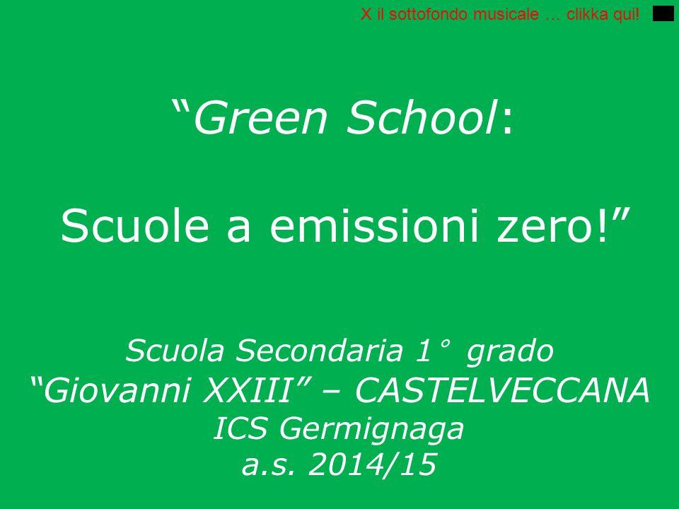 Green School: Scuole a emissioni zero!