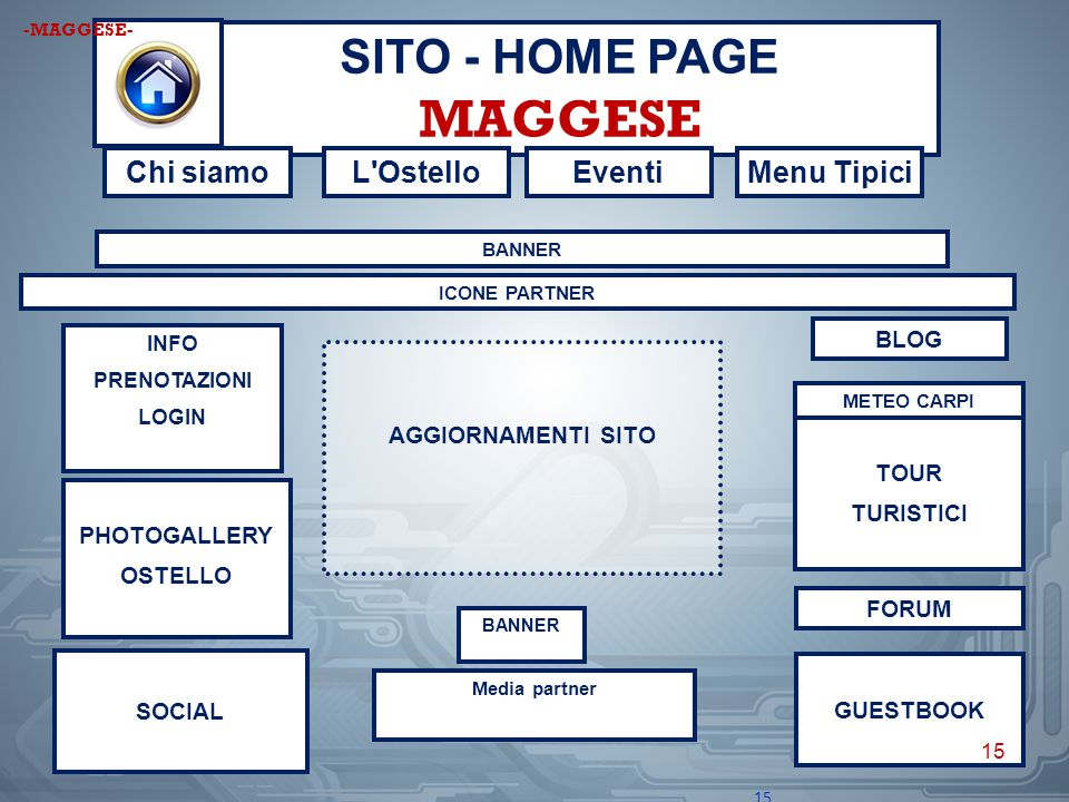 SITO - HOME PAGE MAGGESE