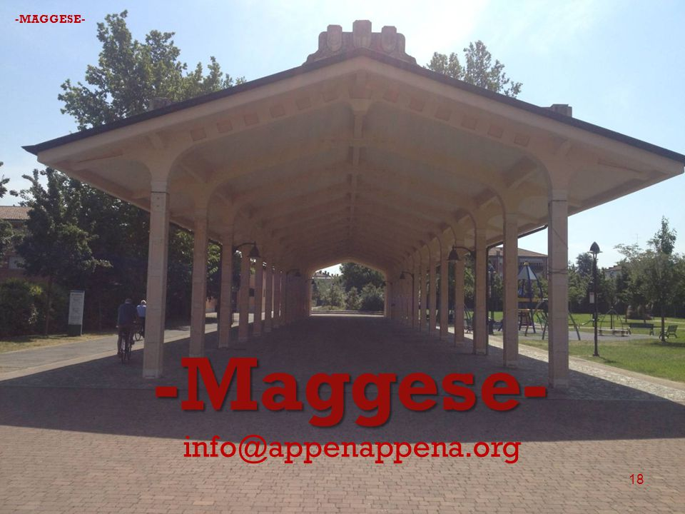 -MAGGESE- -Maggese- info@appenappena.org