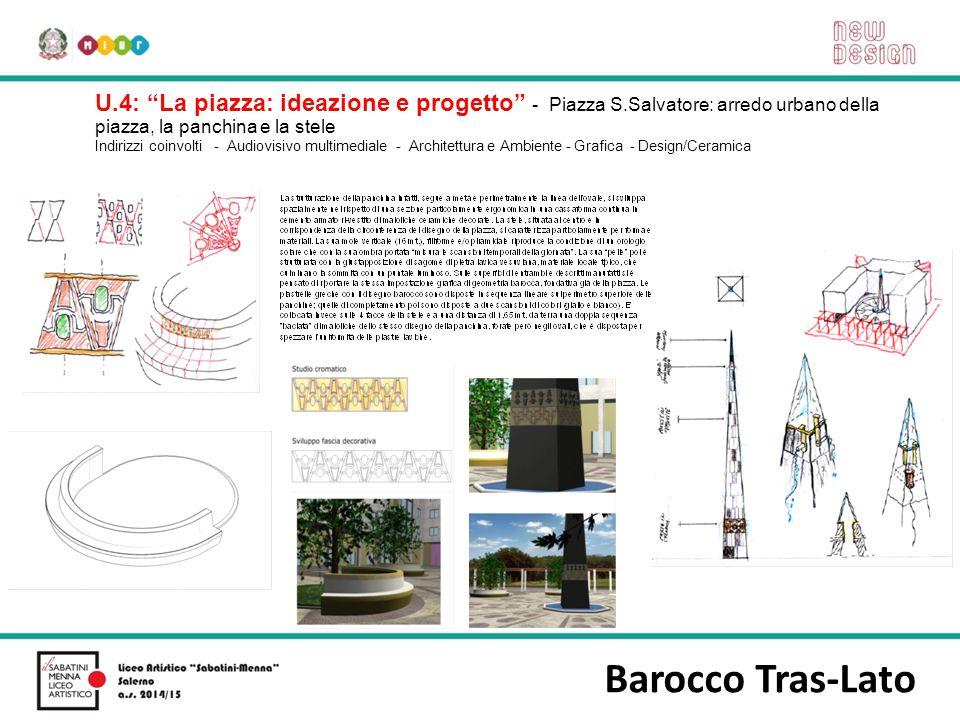 U. 4: La piazza: ideazione e progetto - Piazza S