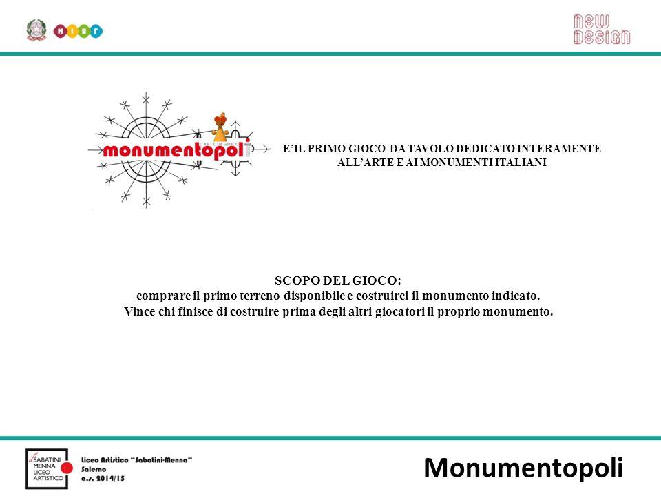 Monumentopoli SCOPO DEL GIOCO: