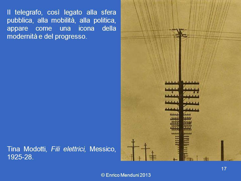 Tina Modotti, Fili elettrici, Messico, 1925-28.