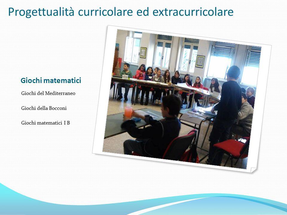 Giochi matematici Giochi del Mediterraneo Giochi della Bocconi