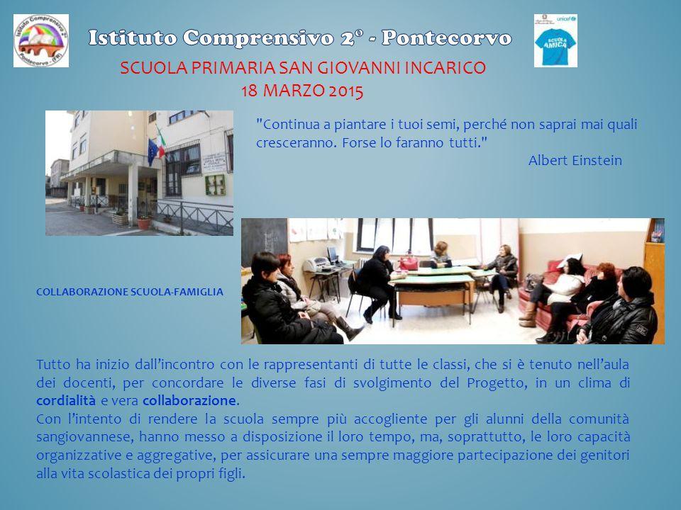 SCUOLA primaria San Giovanni incarico 18 marzo 2015