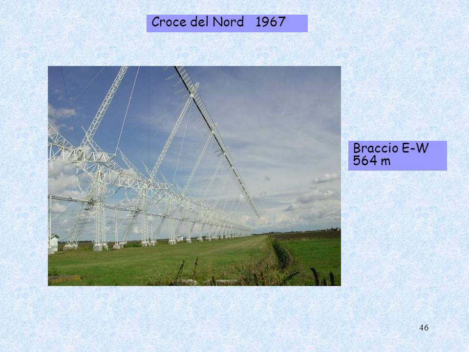 Croce del Nord 1967 Braccio E-W 564 m