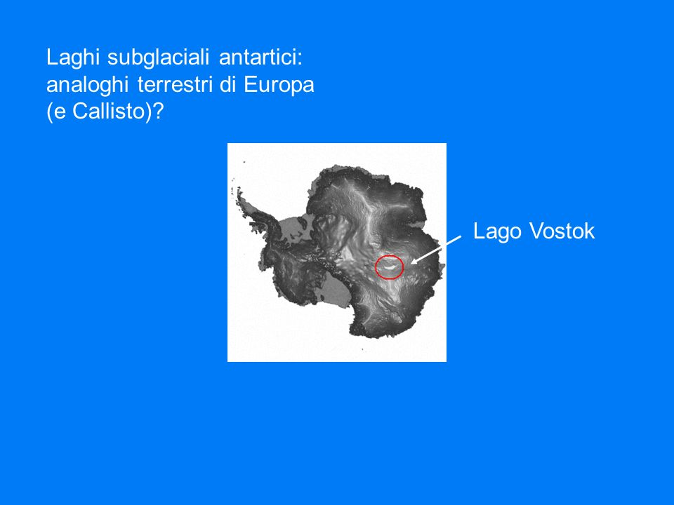 Laghi subglaciali antartici:
