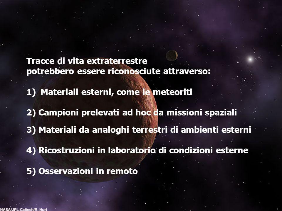 Tracce di vita extraterrestre