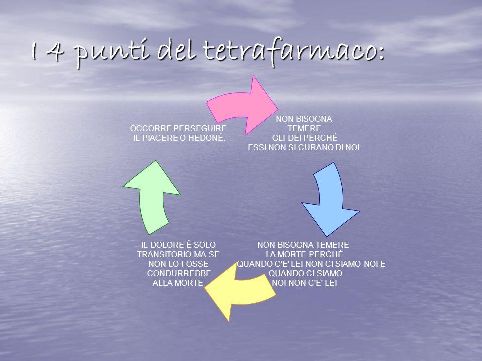 I 4 punti del tetrafarmaco: