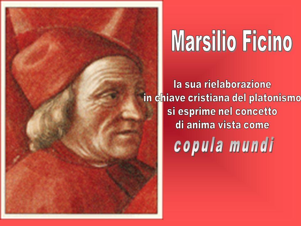 Marsilio Ficino copula mundi la sua rielaborazione