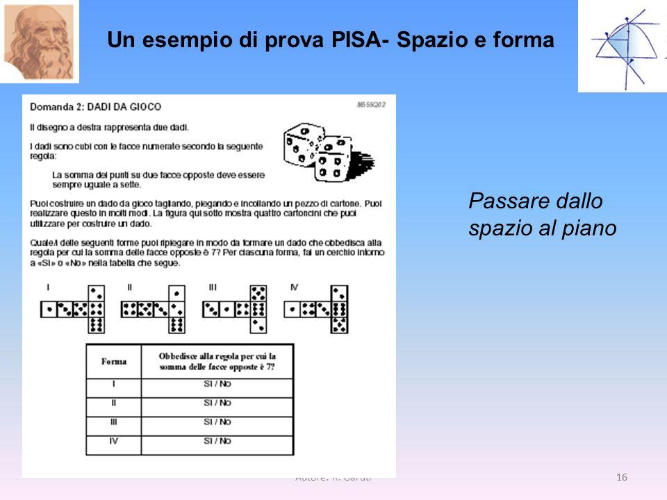 Un esempio di prova PISA- Spazio e forma