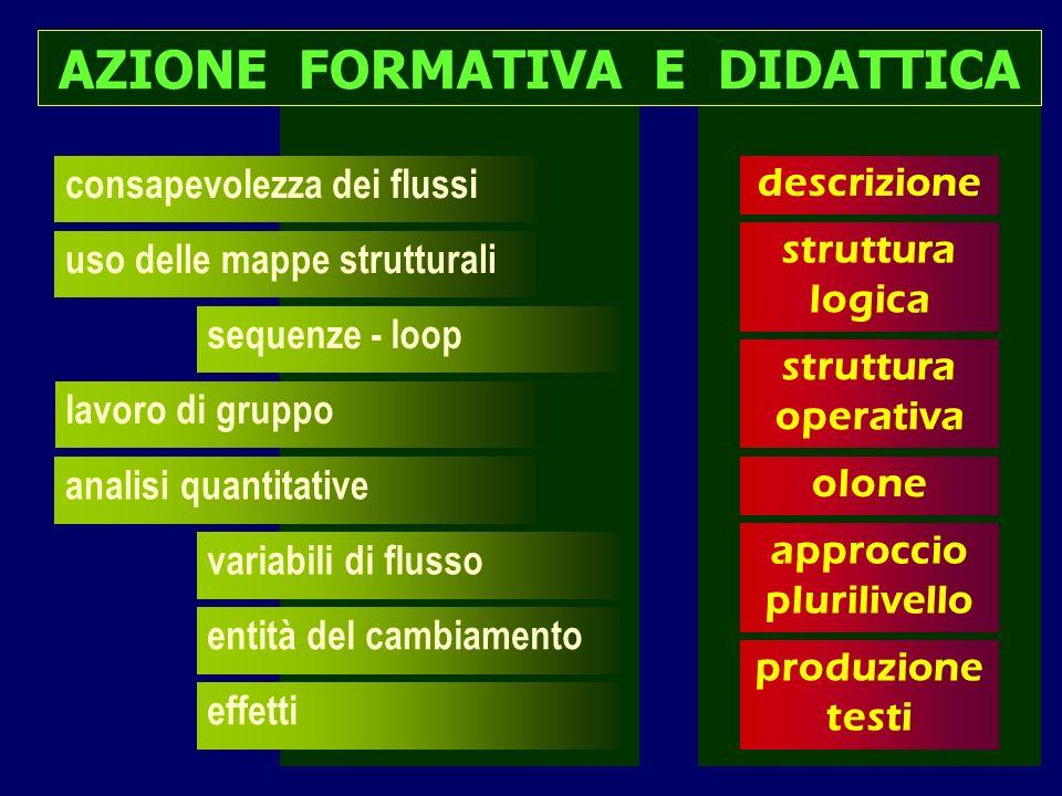 AZIONE FORMATIVA E DIDATTICA approccio plurilivello