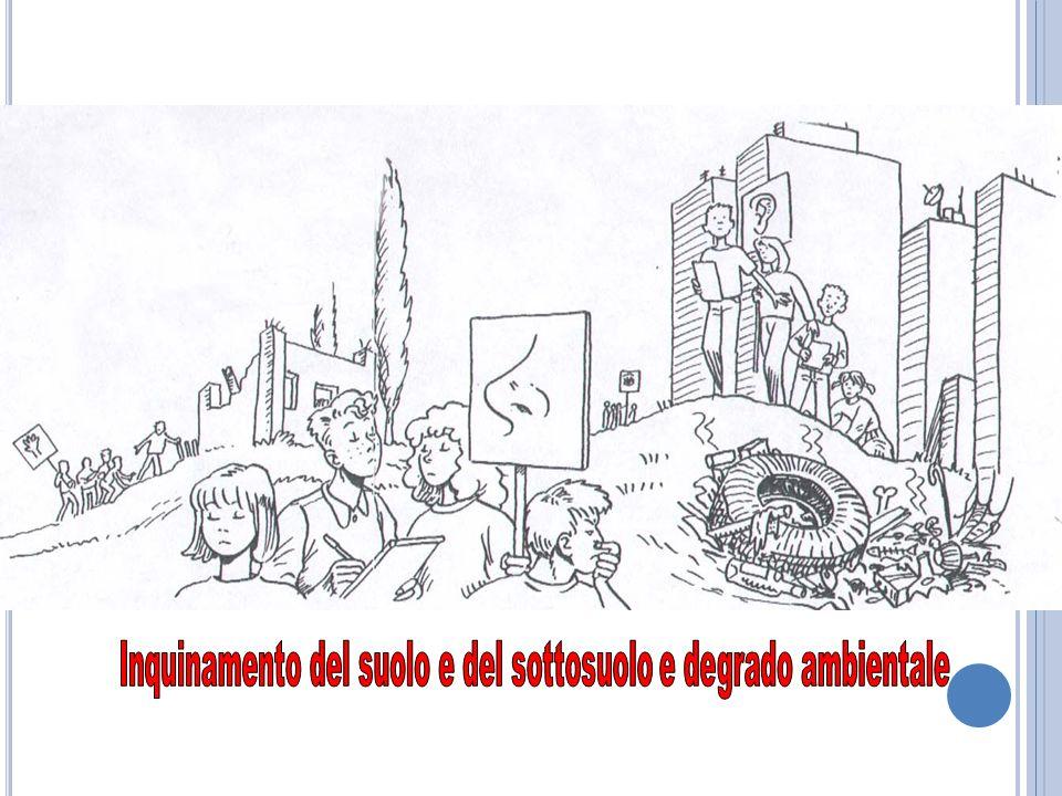 Inquinamento del suolo e del sottosuolo e degrado ambientale