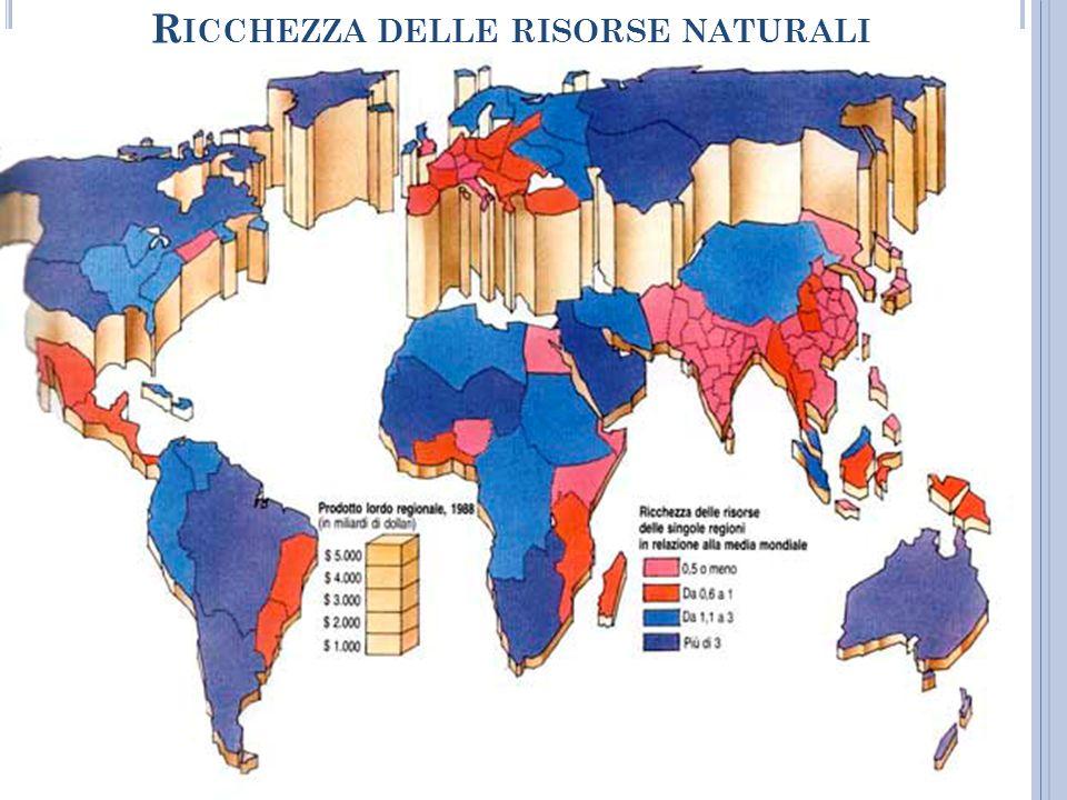 Ricchezza delle risorse naturali