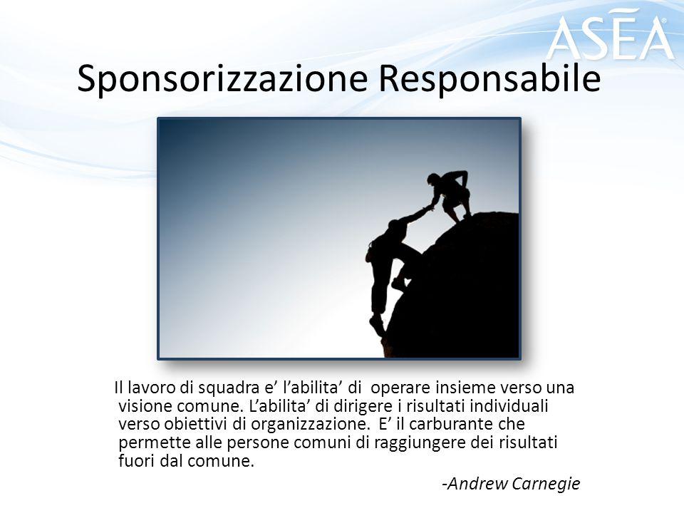 Sponsorizzazione Responsabile
