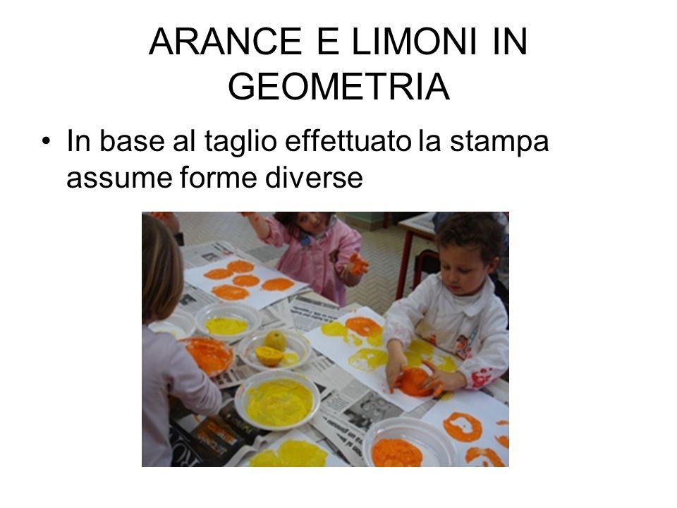 ARANCE E LIMONI IN GEOMETRIA