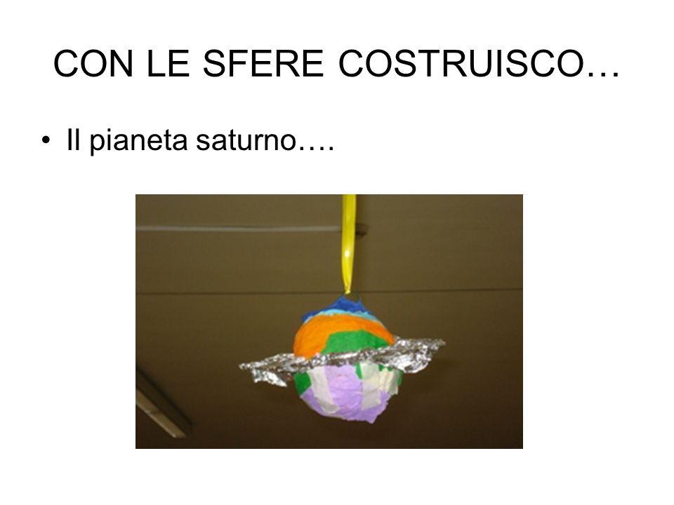 CON LE SFERE COSTRUISCO…
