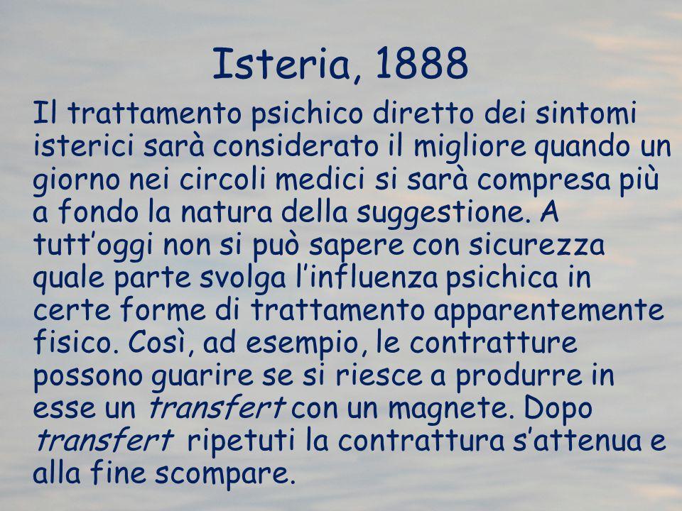 Isteria, 1888