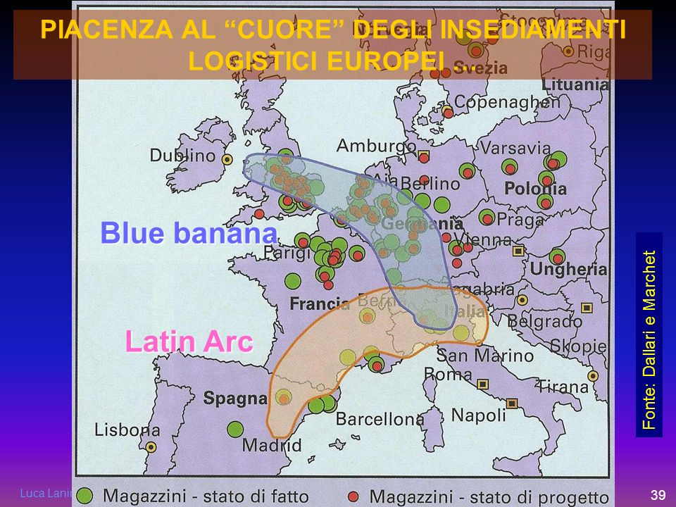 PIACENZA AL CUORE DEGLI INSEDIAMENTI LOGISTICI EUROPEI …