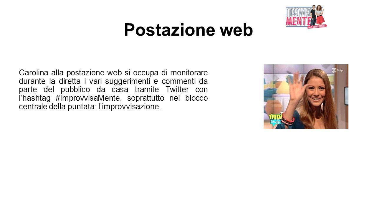 Postazione web
