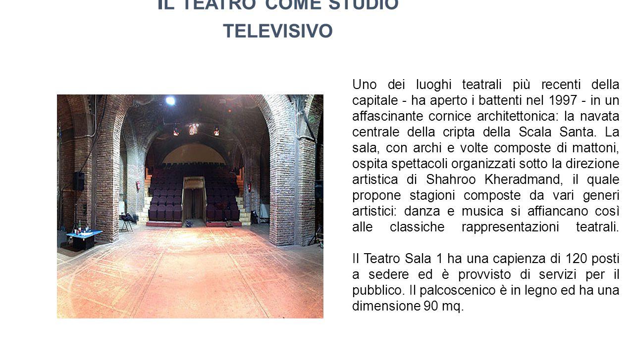 Il teatro come studio televisivo