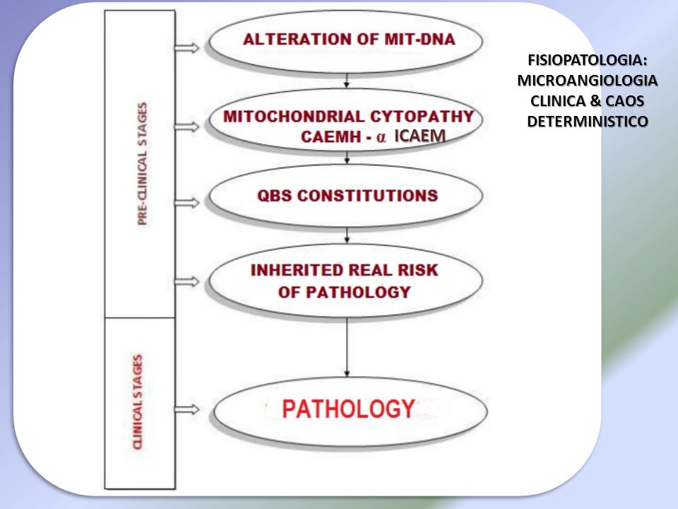 FISIOPATOLOGIA: MICROANGIOLOGIA CLINICA & CAOS DETERMINISTICO