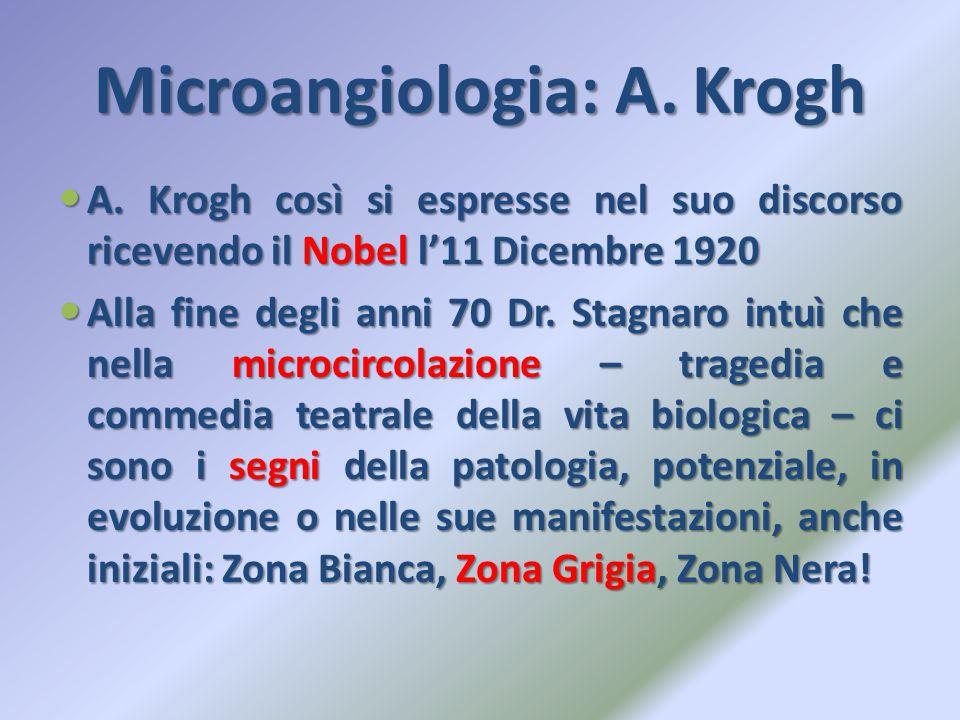 Microangiologia: A. Krogh