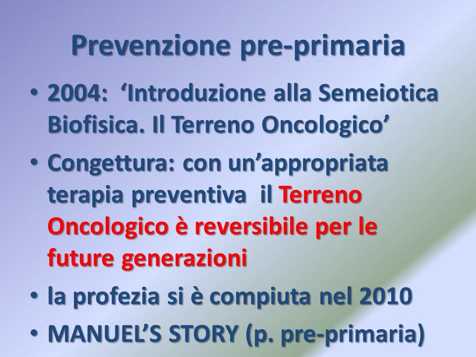Prevenzione pre-primaria