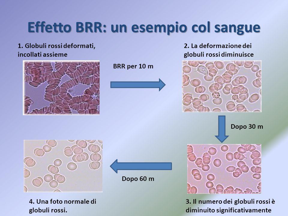 Effetto BRR: un esempio col sangue