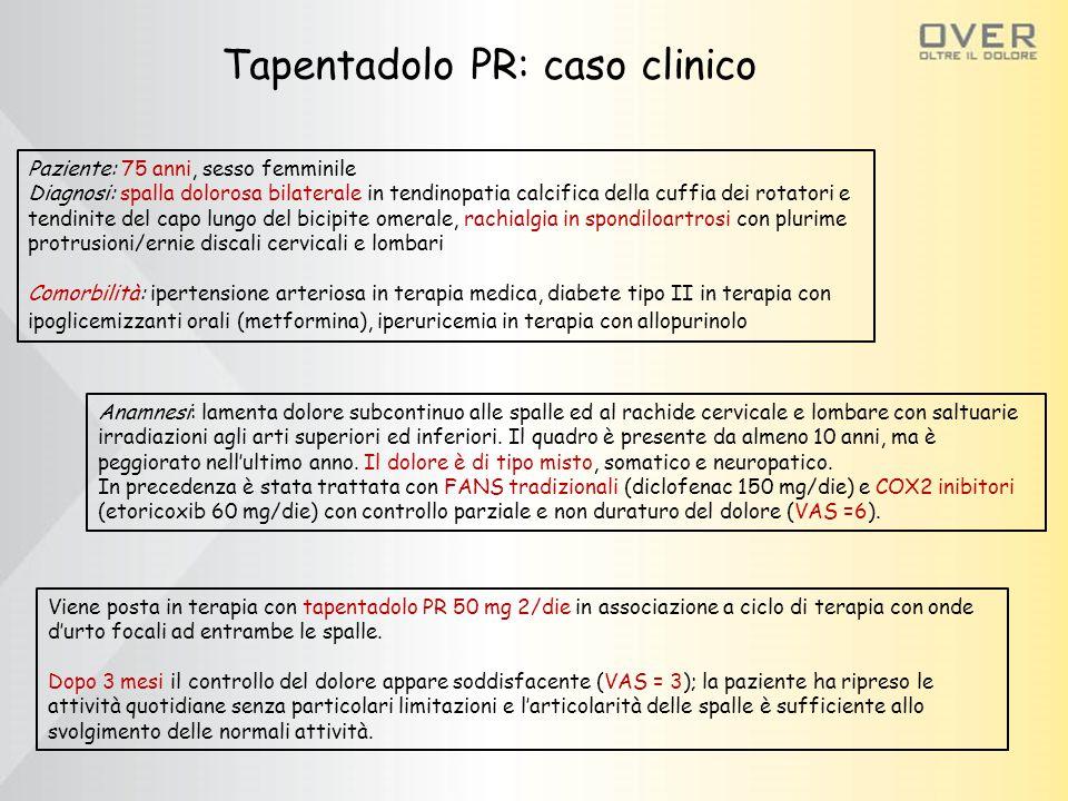 Tapentadolo PR: caso clinico